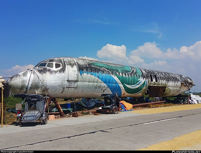 Parked Airplane